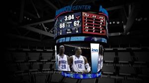 Amway Center Scoreboard